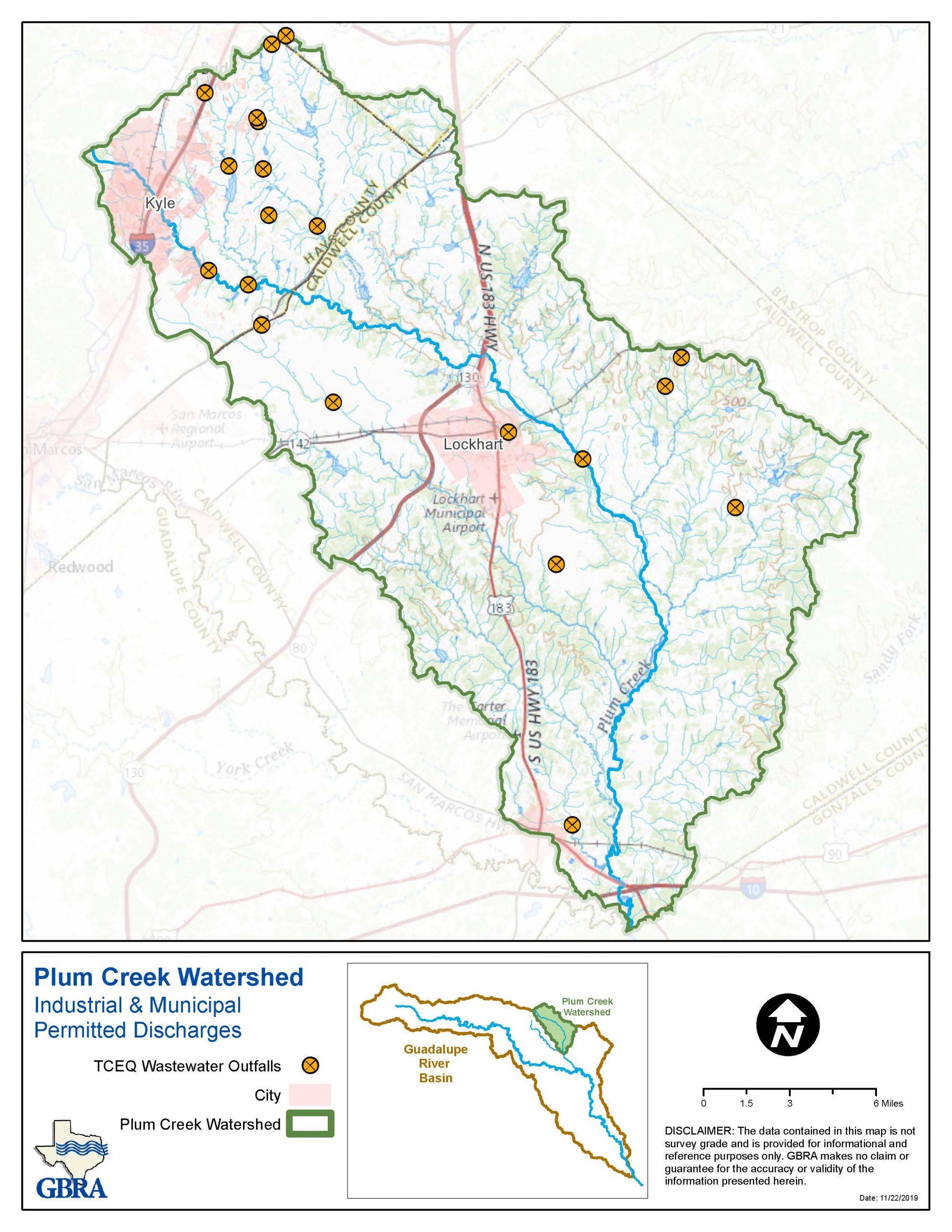 Plum Creek Discharges