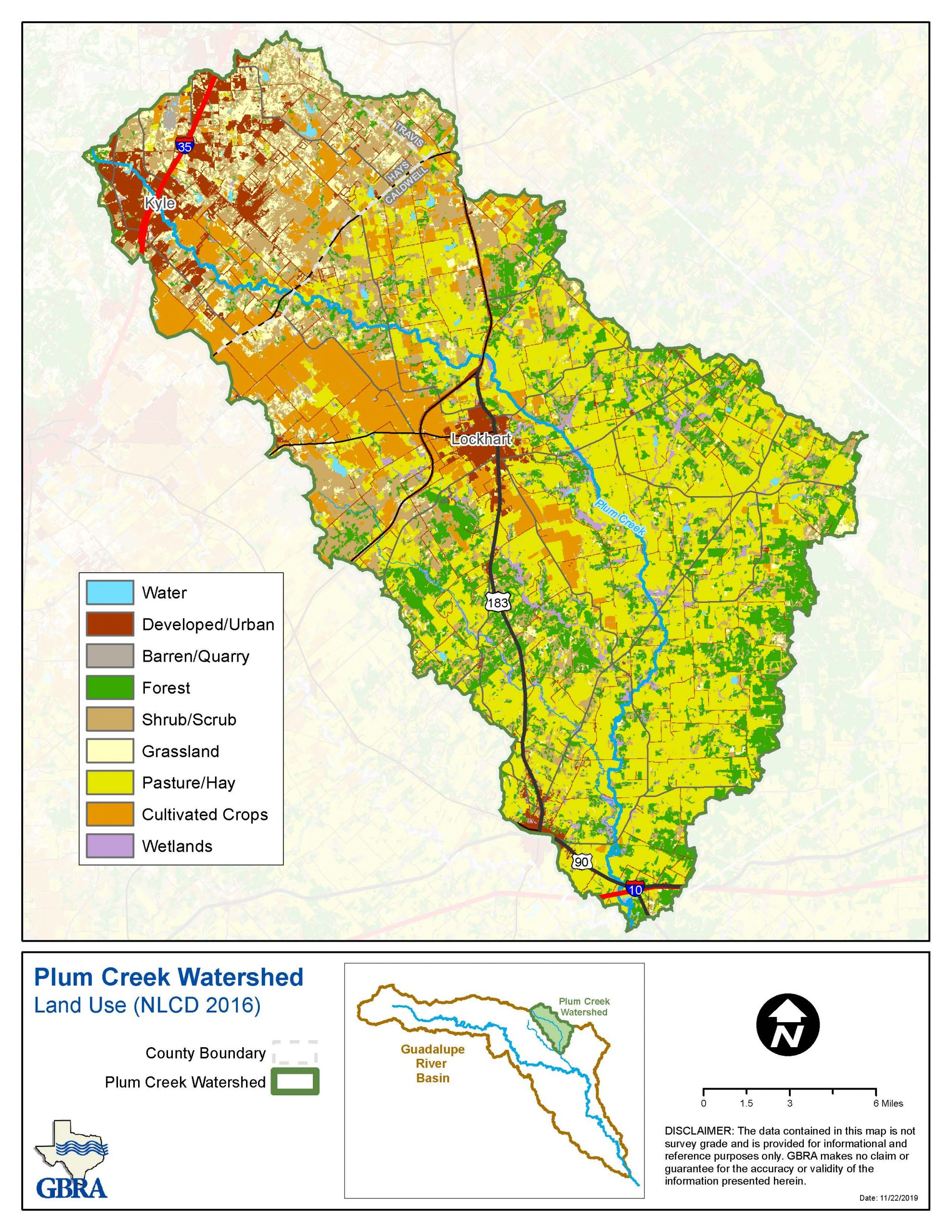 Watershed Land Use