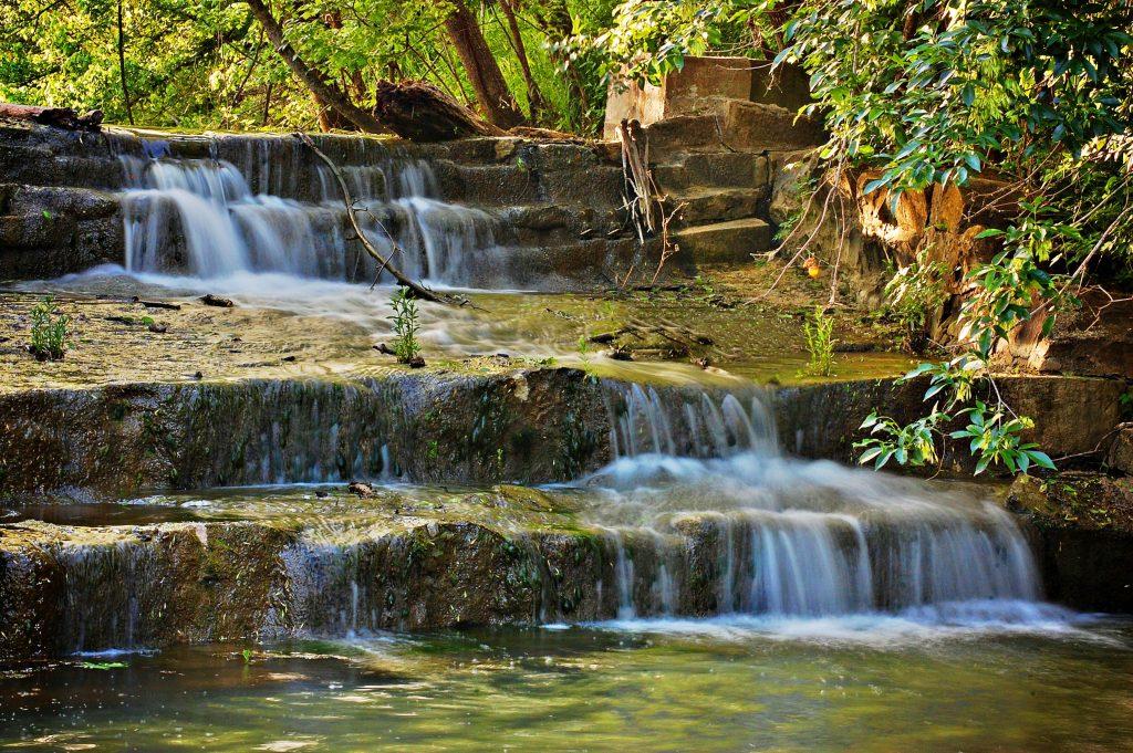 Waterfall Lockhart State Park